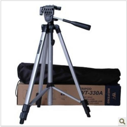 Weifeng WT-330A Lightweight Camera Tripod with Carrying Bag