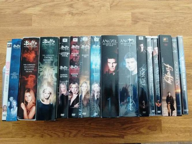 Whedon DVD Collection: Every season of Buffy, Angel, Firefly + 3 movies