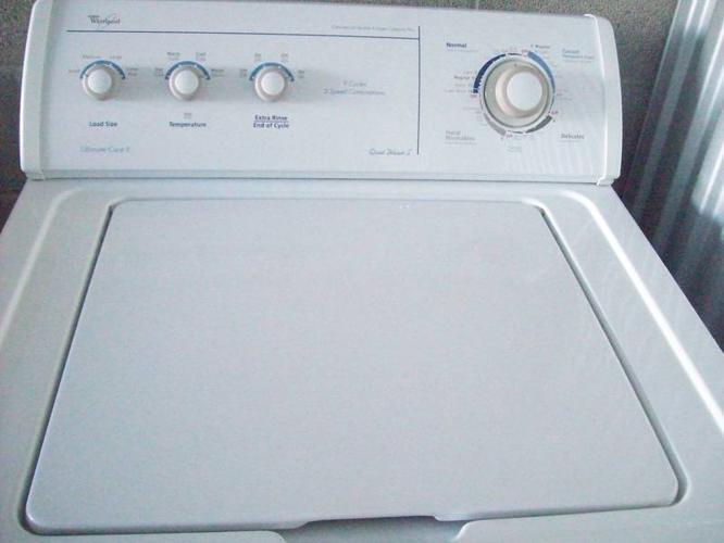 Whirlpool Large Capacity Washer, Enegy Efficeint Model