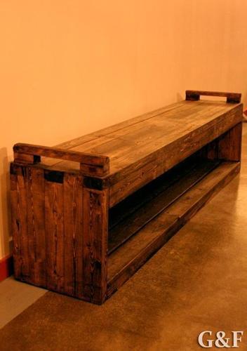 Whiskey Hallway Bench