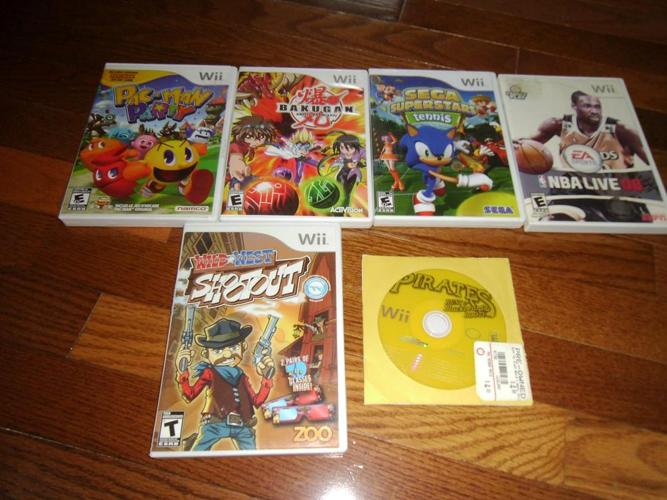 Wii Games for $5.00 each