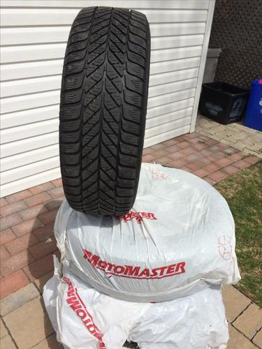 Winter Tires Goodyear Allow wheels (Nissan)
