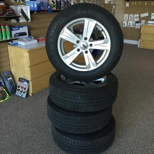 Winter Tires on Rims  225/65/17