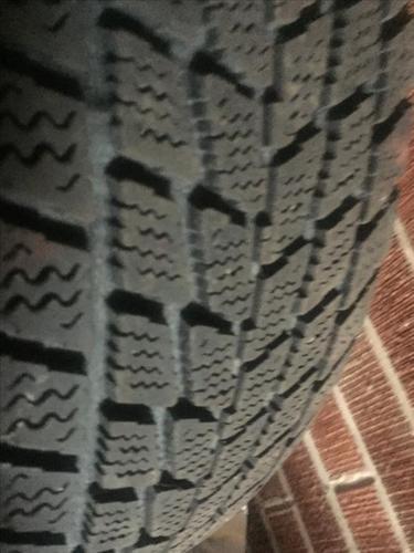 Winter tires (TOYO) on rims 175-65R14