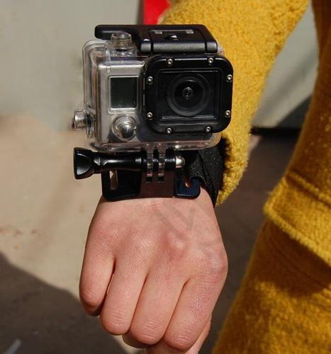 Wrist & Arm Belt Dive Housing Wrist Strap Band Mount For GoPro