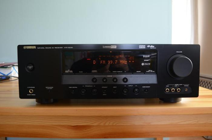 YAMAHA HTR-6030 5.1 RECEIVER WITH REMOTE/MANUAL MINT