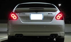 A pair of after market LED tail lights for a 2004 to 2008 Nissan Maxima (any trim level).  I've only had these on for a few months but recently bought a different colour and no longer need these. The first image is an example of the light design.  The