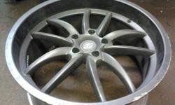 I have two(2) Rims (one front, one back), Dark graphite color, that came off a 2010 Lexus IS350C, with a RWD, F-Sport package. The rim dimensions are: 19x8-40 Front & 19x9-40 Back They came off the Passenger side of the Car, after the car experienced a