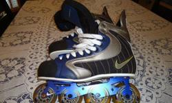 They are nike and they are awesome. Never used.