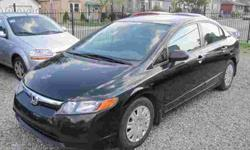 """ALL INCLUDED! SAFETY & E-TEST & CAR-PROOF & FACTORY WARRANTY. NO HIDDEN CHARGES, JUST + TAX!? 2008 HONDA CIVIC DX,. Automatic , 4drs Sedan, AIR CONDITIONING, Loaded, PW, PM, Tilt, MP3/CD/AUXILIARY, ANTI-LOCK BRAKING SYSTEM, TC, 1.8 Liter, Black. ONLY:"