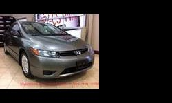 Don't miss out on this affordable and efficient 2008 Honda Civic! With a 1.8L four cyl engine and 5 gear manual transmission, this Civic is guaranteed to get outstanding gas mileage. When the price of gas rises again, you won't have to worry. Regardless