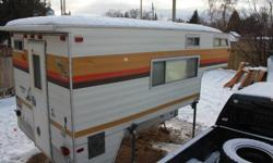 10' Edson Playboy edition camper good for ice fishing or camping your call my name is Jared 807 345 0863