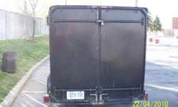 Great trailer with big space. Call or email for details. 2500lbs load capacity