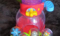 Fisher Price Roll-a-Round Swirling Gumball Machine. Contains 7 balls. Langford