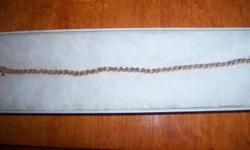 10K DIAMOND TENNIS BRACELET WORN TWICE EXCELLENT CONDITION Ad will remain till item is sold