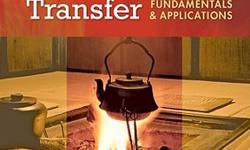 Heat And Mass Transfer Book- 4th edition, McMaster Course Code- Mech Eng 3R03, It is in Mint condition, Hard Cover, No highlighting or writing in it