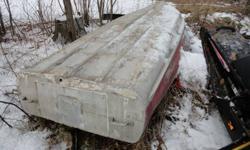 Aluminum boat needs tlc.no motor or trailer