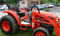2007 Tractor (25 hp & Hydrostatic transmission) with Loader and about 300 hrs Truly a good Tractor... stronger than Kubota !Used for snow removal only... Has Industrial Tires too!Now we`re moving and don`t need the tractor.It`s in good shape (only 300 hrs