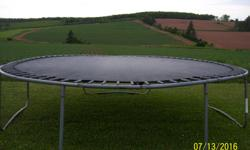 """I have a 14"""" trampoline for sale. The side padding is missing."""