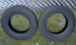 im selling 4 all-season tires. 185/75/14. there is about 75% tread left. in great shape with no major cracks. $125 obo