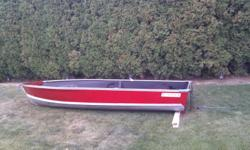 14 Foot Aluminum Prince Craft Fishing Boat, new paint, great shape.  $700.00 obo