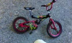 Great bike for kids....hardly used. Can deliver in Ottawa area.