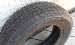 185 R7014 winter tires, set of 4, over 500 new, 2500 kms on tires