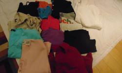 14 t-shirts 6 med., 7 Lg., 1 XL 14 for $8 (#303 Route 14 Coleman)