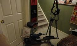 Just bought at Canadian Tire for $199.95 plus tax a little over a year ago.Unique space-saving design. Effortlessly switch between the upright bike and elliptical trainer with no additional assembly. Six-kg flywheels with eight-level indexed magnetic