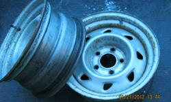 2 rims to fit GMC Sonoma or S10. They are 15x7  in size. Will sell  for $50.00  561-1326