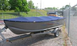 Dimensions LOA: 15 ft 0 in Beam: 5 ft 8 in Engines Engine Brand: Mercury Engine(s) Total Power: 20 HP Engine Model: 4-stroke Year Built: 2008 Tanks Fuel Tanks: Plastic (4 Gallons) Description Clean and lightly used open aluminum boat.  2008 Mercury 20hp
