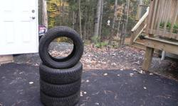 NOW $300 - CALL 670-5791 IF INTERESTED  195/60/15 WANLI WINTER-CHALLENGER Wiunter Tires used for only the 2010/2011 winter season, approx 7-8k on them. Came off of a 2005 Honda Civic, Purchased at Shay Tire in Berwick