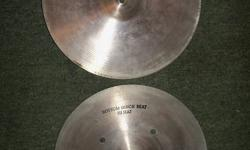 70 or 80's hollow logo made in USA. Great shape. They are just too big and loud for me so I would also consider trades for something smaller and thinner. This is a video I found on you tube demoing them. http://www.youtube.com/watch?v=97_m5QU_Io8
