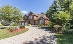 # Bath 5 MLS 1123463 # Bed 4 Are you looking for your dream home in Orleans? This could be the one. The interlock driveway and walkway lead you to an impressive 2 storey brick home with 3 car garage on a ravine lot with no rear neighbors!! This house