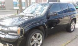 Amazing one of a kind sport utility SS model with Corvette 6.0L LS2 engine, rated at 395HP and 400FT/LB of torque. In great condition with 112000 kms. I have maintained this truck very well with all service records available. It is fully loaded, black on