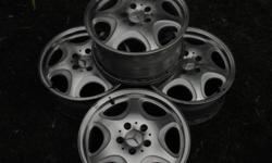 200 o.b.o. 16 inch used rims look almost new.