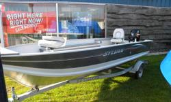 BRAND NEW 16' Sylvan Sport Troller Aluminum Boat Includes: 25hp Mercury 4-stroke, Electric Start Outboard Motor EZ-Loader Galvanized Trailer Two Swivel Seats Livewell Lights, and lots of storage Fall clearance Price: $7950 or $195 per month with zero