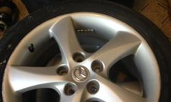 I have 4 sweet MAZDA 6 sport wagon RIMS. (photo) Asking $400 Or Best Offer! Make me an offer~