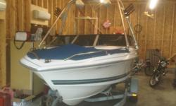 1991 Bowrider Thundercraft 17.5ft  With wake tower and speakers 4.3 Merc engine. Comes with trailer. Reason for selling is, we want a newer and bigger boat.  Boat works great, just installed a new trim motor, new starter and coil last year. I have all the