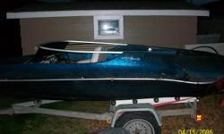 1982 Hydrostream ski boat for sale new passenger seat, newer tires, new lights and wiring on trailer with no rust, no leaks and solid transom.. Custom fitted storage cover comes with boat. I am now selling the boat and trailer, (no motor) for $800.00, I