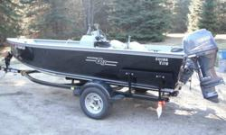 17 foot g3 boat yamaha 60 hp four stroke low hours built in gas tank live well and storage hummingbird fishfinder and matching trailer warrenty on motor till july 2013 ( can get extened warrenty if wanted) trailer has pull out tounge purchased new july