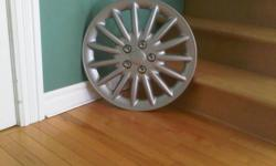 For sale, 17 inch wheel covers. Brand new, never used! Still in the box. Paid $60, asking $30. Any questions, please inquire.