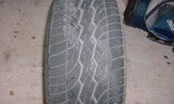 Hi there my name is ian i am looking on selling my rim and tire combo i have not had them long they were on my car for a month or 2 then took them off. They are in excellent shape you will get lots more kms with these tires. The size of the tires are 215