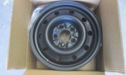 brand new set of four steel rims, bolt pattern 5x114.3  If you have one of the below vehicles, these are the rims you need.  minimum size for your vehicle is 17 inch!! toyota sienna, venza, ford edge, flex, explorer, freestyle, montego, mustang v8,