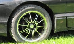 """Low profile, high performance Triangle Talon TR9689 tires (235/45R17) on 17"""" Zen rims. 5 bolt pattern. In excellent condition with less than 10 000 kms. Asking $500 or best offer. I will remove this ad once they are sold."""