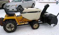 """18 HP Hydro. with 45"""" snow blower Heavy duty Garden tractor - also included 50"""" deck"""