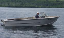 18.5 foot Starcraft Holiday Aluminum...very deep and wide, great boat for Superior. 120 Mercruiser I/O. (2.5L Chevy). Great on Gas. Comes with Trailer. Boat runs good, however it needs:   Bellows New Prop (last one stolen) I have a spare but it is beat