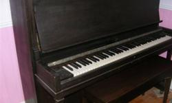 WANTED:  GOOD HOME FOR ANTIQUE PIANO Sherlock-Manning crafted in 1918, with refinished storage bench. Beautiful sound, excellent condition, needs to be tuned. Narrow profile makes it perfect for apartment or small room.  $300.  Contact by phone only