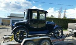 Make Ford Colour black Trans Manual Hi I have a 1923 Ford Model T Coupe in excellent condition. All original and runs excellent. If interested Call Andrew 2507206 399