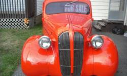 1937 Plymouth 4 door sedan fully restored Suicide doors Remote door entry 350 Chevy smallblock 4bbl 3 speed auto kenwood stereo system with a sony xploid amp has recently been safetied comes with appraisal, details upon request